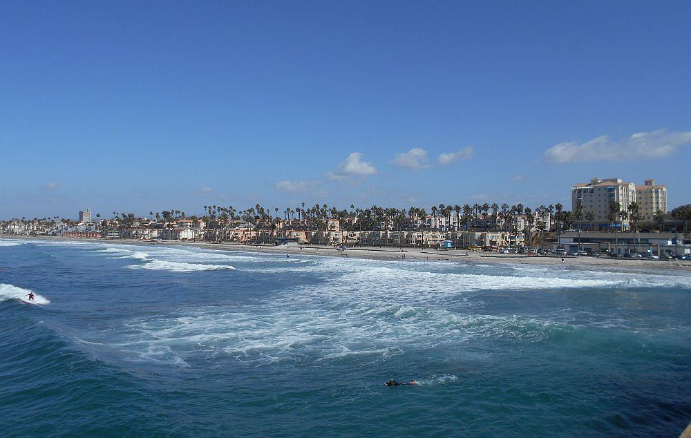 Der Strand von San Diego