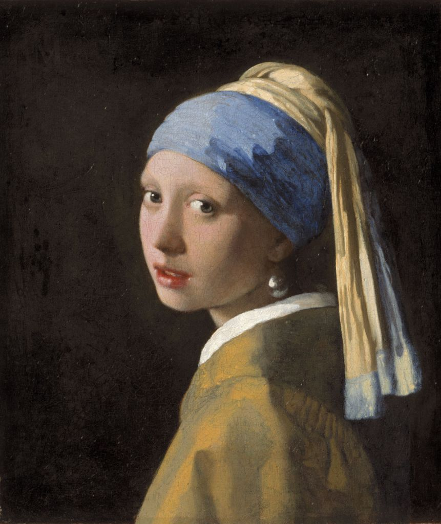 Jan Vermeer: Mädchen mit dem Perlenohrring Foto: Mauritshuis
