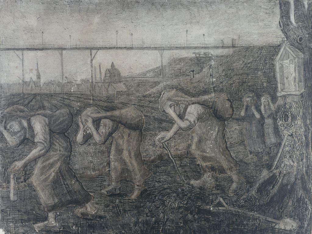 Van Gogh: Die Lastenträger Vincent van Gogh, Les becheurs, Collectie Stedelijk Museum Amsterdam © Collectie Stedelijk Museum Amsterdam